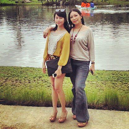 Bella Taruna sedang di Bali Indonesia