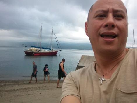Jefrry Wibisono di Amuhusu Ambon