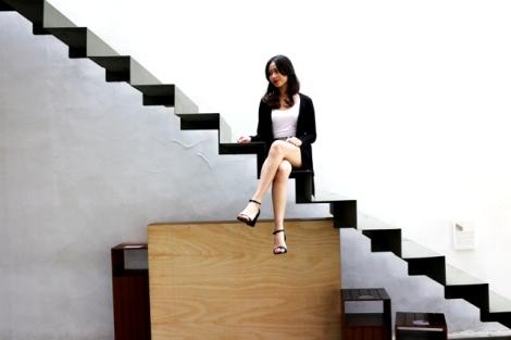 Bella Putri, Sedang city travelling di kemang, Jakarta