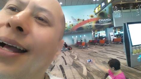 Jeffrey Wibisono di Changi Singapore