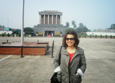 Nadja di Ho Chi Minh Museum, Hanoi - Vietnam