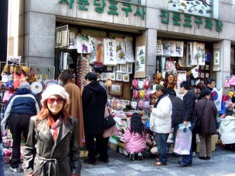 Riri Hassan di Seoul, Korea