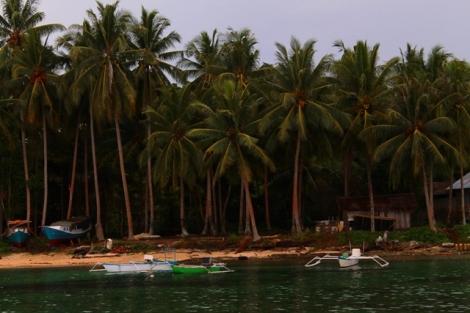 Sudut pulau Karangpuang Mamuju, Sulawesi Barat