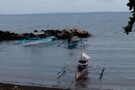 Pantai Malalayang Manado.