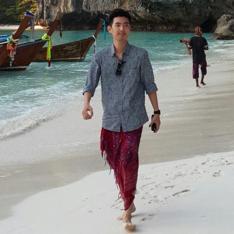 Ronald di Maya Bay, Phi Phi Island, Thailand
