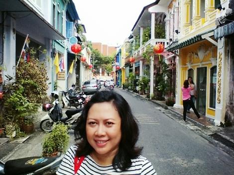 Nadja di Old Phuket Town, Thailand