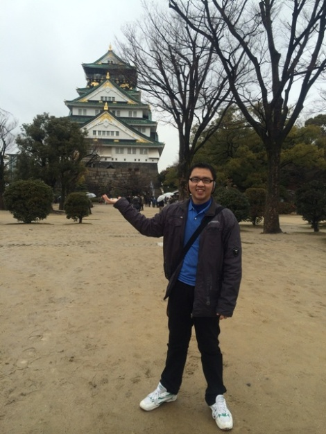 Ivan Mengunjungi Osaka Castle