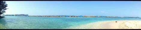 Angelica saat mengelilingi pulau seribu