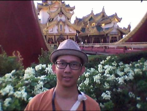 Suhe sedang di Yangon, Myanmar
