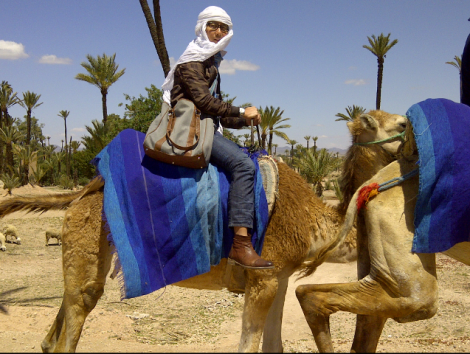 Suhe sedang di Morocco, Africa