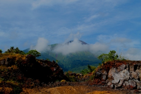 Salah satu pemandangan yang mudah ditemukan di Ternate