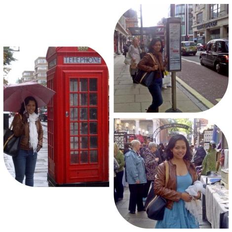 Niken sedang menjelajah UK