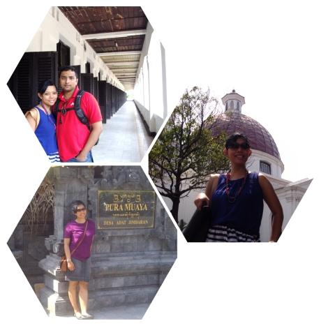 Niken sedang traveling di Bali dan Semarang