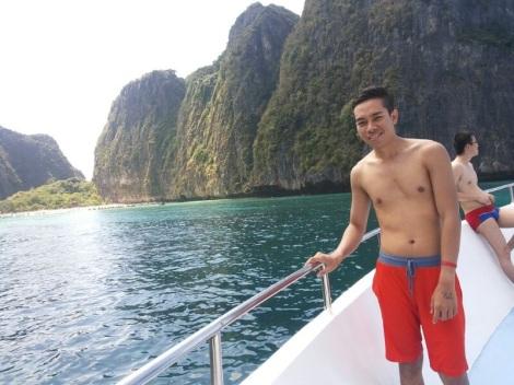 At anggel boat phi phi island phuket, Thailand