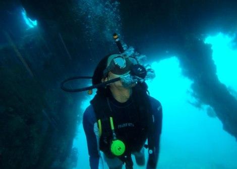 Dive in Tulamben