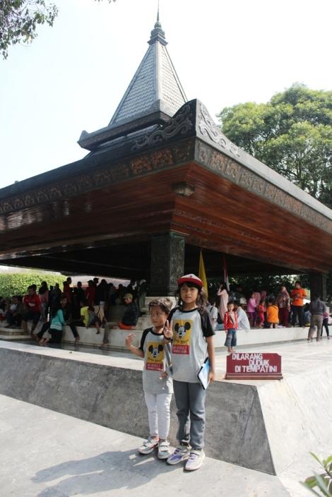 Salah satu sudut Makam Bung Karno Presiden pertama RI