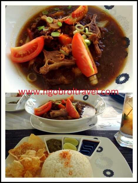 Oxtail Soup Trans Hotel