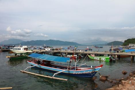 Pelabuhan Ketapang Lampung, siap-siap menuju pulau Pahawang